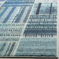 """""""Monaco Collection 2'-2"""""""" X 14' Rug in Forest Green And Light Blue - Safavieh MNC243F-214"""""""