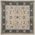 """""""Lyndhurst Collection 6'-7"""""""" X 6'-7"""""""" Square Rug in Red And Ivory - Safavieh LNH553-4012-7SQ"""""""