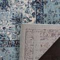 Evoke Collection 9' X 9' Square Rug in Ivory And Blue - Safavieh EVK220C-9SQ