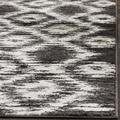 Adirondack Collection 9' X 9' Round Rug in Silver And Ivory - Safavieh ADR114B-9R