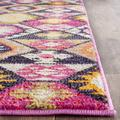Monaco Collection 10' X 14' Rug in Violet And Light Blue - Safavieh MNC243L-10
