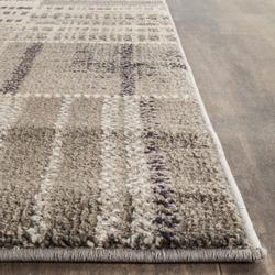 Monaco Collection 5' X 5' Square Rug in Forest Green And Light Blue - Safavieh MNC243F-5SQ