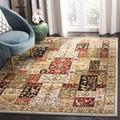Lyndhurst Collection 8' X 10' Rug in Light Blue And Ivory - Safavieh LNH312B-810