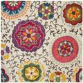 """""""Monaco Collection 5'-1"""""""" X 7'-7"""""""" Rug in Red And Blue - Safavieh MNC265Q-5"""""""