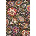 """""""Monaco Collection 4' X 5'-7"""""""" Rug in Green And Blue - Safavieh MNC263Y-4"""""""