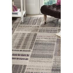 Monaco Collection 8' X 10' Rug in Forest Green And Light Blue - Safavieh MNC243F-810