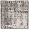 Adirondack Collection 6' X 9' Rug in Ivory And Grey - Safavieh ADR132B-6