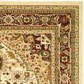 """""""Lyndhurst Collection 5'-3"""""""" X 7'-6"""""""" Rug in Grey And Beige - Safavieh LNH330G-5"""""""
