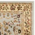 """""""Lyndhurst Collection 3'-3"""""""" X 5'-3"""""""" Rug in Cream And Navy - Safavieh LNH334K-3"""""""
