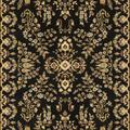 Lyndhurst Collection 4' X 6' Rug in Teal And Cream - Safavieh LNH332T-4