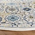 Evoke Collection 4' X 6' Rug in Royal And Ivory - Safavieh EVK210A-4