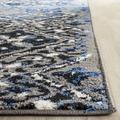 Adirondack Collection 4' X 6' Rug in Ivory And Silver - Safavieh ADR110B-4