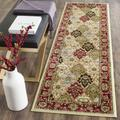 """""""Lyndhurst Collection 2'-3"""""""" X 8' Rug in Black And Ivory - Safavieh LNH316B-28"""""""