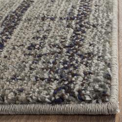 """""""Monaco Collection 4' X 5'-7"""""""" Rug in Forest Green And Light Blue - Safavieh MNC243F-4"""""""