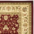 Lyndhurst Collection 6' X 9' Rug in Black And Multi - Safavieh LNH225B-6