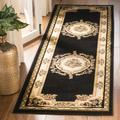Lyndhurst Collection 8' X 8' Square Rug in Ivory And Red - Safavieh LNH215A-8SQ