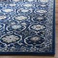 """""""Courtyard Collection 2'-3"""""""" X 8' Rug in Black And Beige - Safavieh CY6244-256-28"""""""