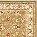 """""""Madison Collection 2'-3"""""""" X 14' Rug in Ivory And Blue - Safavieh MAD152M-214"""""""