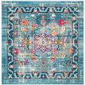 Madison Collection 4' X 6' Rug in Cream And Fuchsia - Safavieh MAD604R-4