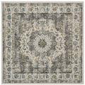 Evoke Collection 10' X 14' Rug in Ivory And Blue - Safavieh EVK210C-10