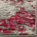 Monaco Collection 8' X 10' Rug in Ivory And Red - Safavieh MNC257A-810