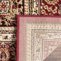"""""""Lyndhurst Collection 2'-3"""""""" X 14' Rug in Ivory And Red - Safavieh LNH215A-214"""""""