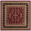 """""""Lyndhurst Collection 2'-3"""""""" X 16' Rug in Ivory And Rust - Safavieh LNH331R-216"""""""