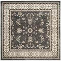 """""""Lyndhurst Collection 6'-7"""""""" X 6'-7"""""""" Square Rug in Brown And Ivory - Safavieh LNH553-2512-7SQ"""""""