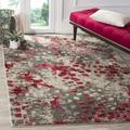 Monaco Collection 9' X 12' Rug in Ivory And Red - Safavieh MNC257A-9
