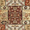 Lyndhurst Collection 5' X 5' Square Rug in Light Blue And Ivory - Safavieh LNH312B-5SQ