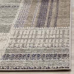 """""""Monaco Collection 6'-7"""""""" X 6'-7"""""""" Square Rug in Forest Green And Light Blue - Safavieh MNC243F-7SQ"""""""