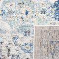 """""""Monaco Collection 2'-2"""""""" X 14' Rug in Grey And Ivory - Safavieh MNC209T-214"""""""