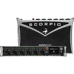 Sound Devices Scorpio 32-Channel/36-Track Portable Mixer-Recorder for Pro Audio Applicati SCORPIO