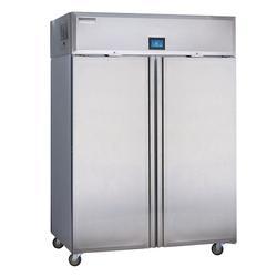 "Delfield GADFL2P-S 55"" Two Section Commercial Refrigerator Freezer - Solid Doors, Top Compressor, 115v"
