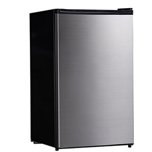 Midea WHS-160RSS1 Single Reversible Compact Refrigerator 4.4 Cubic Feet Stainless Steel