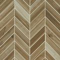 MSI Havenwood Saddle Chevron Glazed Porcelain Tile for Kitchen Backsplash, Wall Tile for Bathroom, Accent Wall Tile, and Shower Wall Tile 12 in. x 15 in. Mesh-Mounted Mosaic Tile (10 sq. ft. / case)