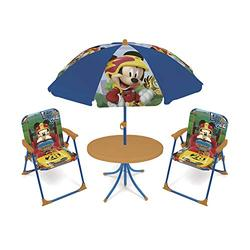 arditex- Ensemble de Jardin 4 en 1 modèle Mickey Mouse, WD12492, Multicolore