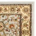 """""""Lyndhurst Collection 3'-3"""""""" X 5'-3"""""""" Rug in Black And Ivory - Safavieh LNH212A-3"""""""