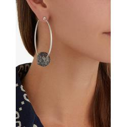 Anger Forest Mismatched Hoop Clip Earrings - Metallic - Gucci Earrings