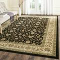 Lyndhurst Collection 6' X 6' Square Rug in Red And Ivory - Safavieh LNH312A-6SQ