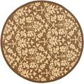 """""""Courtyard Collection 4' X 5'-7"""""""" Rug in Beige Dk Beige And Aqua Weft - Safavieh CY7276-79A18-4"""""""