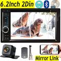 Car DVD Player For 2007-2012 Chevrolet Avalanche Equinox Impala With Backup Rearview Camera – Double Din, Indash Bluetooth Audio, 6.2'' MP3/CD/DVD, USB/SD, Aux-in, AM/FM Radio Stereo