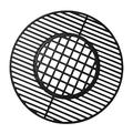 Gill Valueparts 8835, 7435, 22 Grate for 22.5 Weber Kettle Grill, 22.5 Weber Master Touch, 22.5 Weber Charcoal Grill