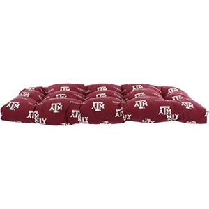 College Covers Texas A&M Aggies Settee Cushion Red