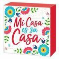 Amscan Cinco de Mayo Mi Casa Standing PlaqueWood in Brown/Red, Size 6.5 H x 6.5 W x 1.0 D in | Wayfair 242719