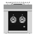 Hestan AEB122 30000 BTU 12 Inch Wide Gas Built-In Side Burner from the Aspire by Hestan Series