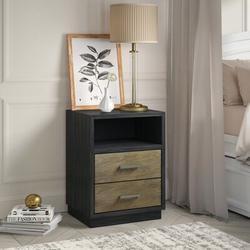 Greyleigh™ Baby & Kids Appling Modern 2 Drawer Nightstand in Brown, Size 28.0 H x 21.0 W x 18.0 D in   Wayfair 347BCB26865342DEBC02A0777CD6392B