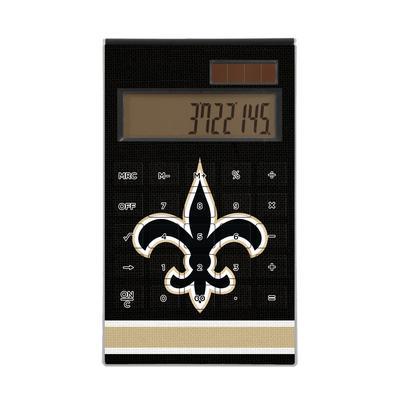 New Orleans Saints Stripe Design Desktop Calculator