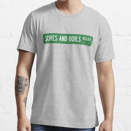Wunden und Furunkel Zeichen Essential T-Shirt