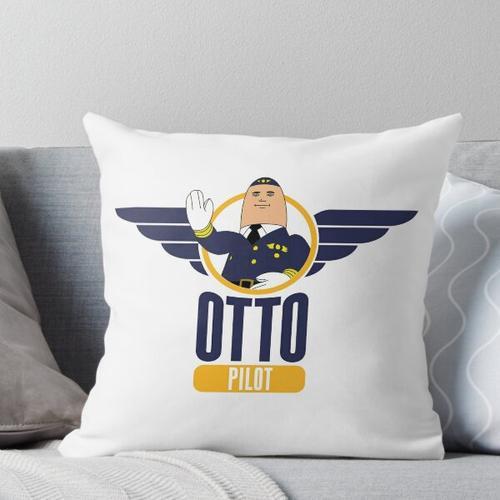 Otto der aufblasbare Pilot Kissen